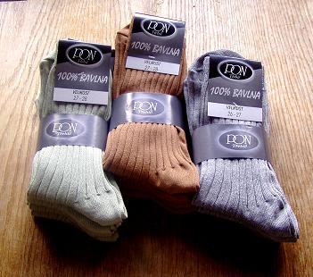 fb832d0fd37 Ponožky 100% bavlna - pracovní oděvy na míru